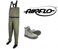 Airflo Hardwear kahluuhousut ja kengät