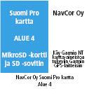 Garmin Suomi Pro V2 kartta