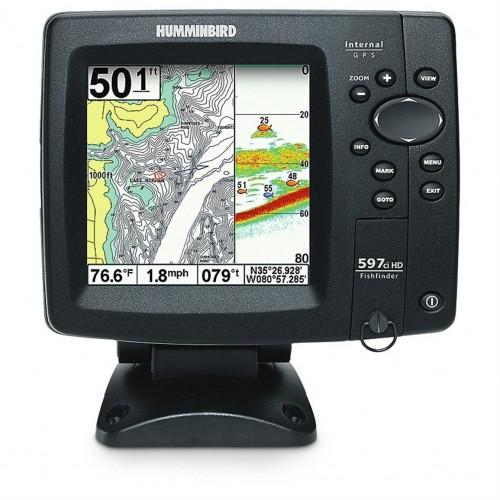 """Humminbird 597ci HD Combo, 5"""" näyttö"""