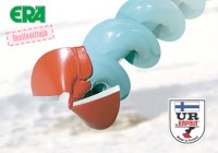 UR- suora vihreä varsi, punainen terä 205mm